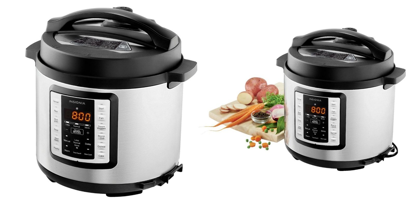 This 6-quart multi-mode pressure cooker is down to just $30 today (Reg. $60+)