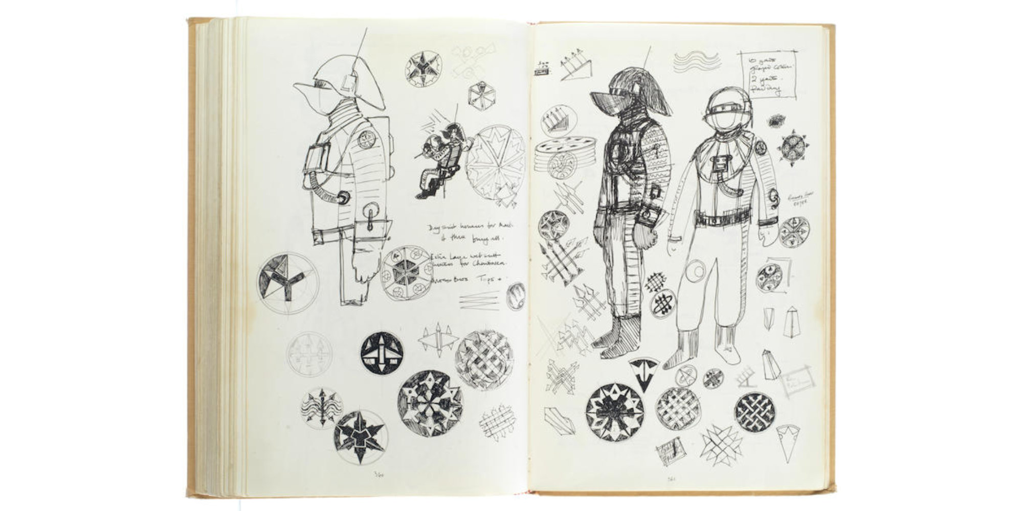 John Mollo Star Wars sketchbooks