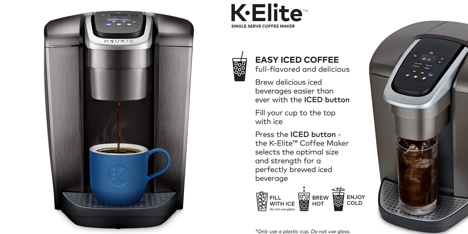 Keurig's K-Elite Single Serve Coffee Maker is now $97.50 at Amazon (All-time low, Reg. $170)