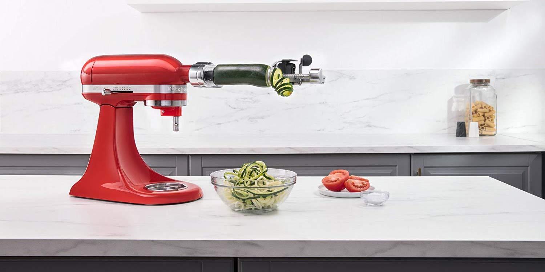 Kitchenaid 5 Qt Stand Mixer Bundle Spiralizer