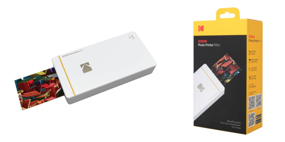Kodak's smartphone-compatible Photo Printer Mini drops to ...