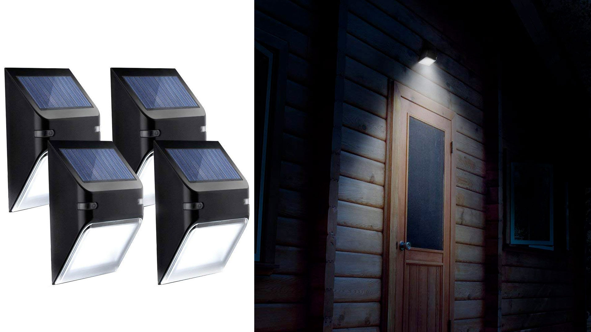 Illuminate your yard without wires by using this 4-pack of solar lights for just $10 shipped
