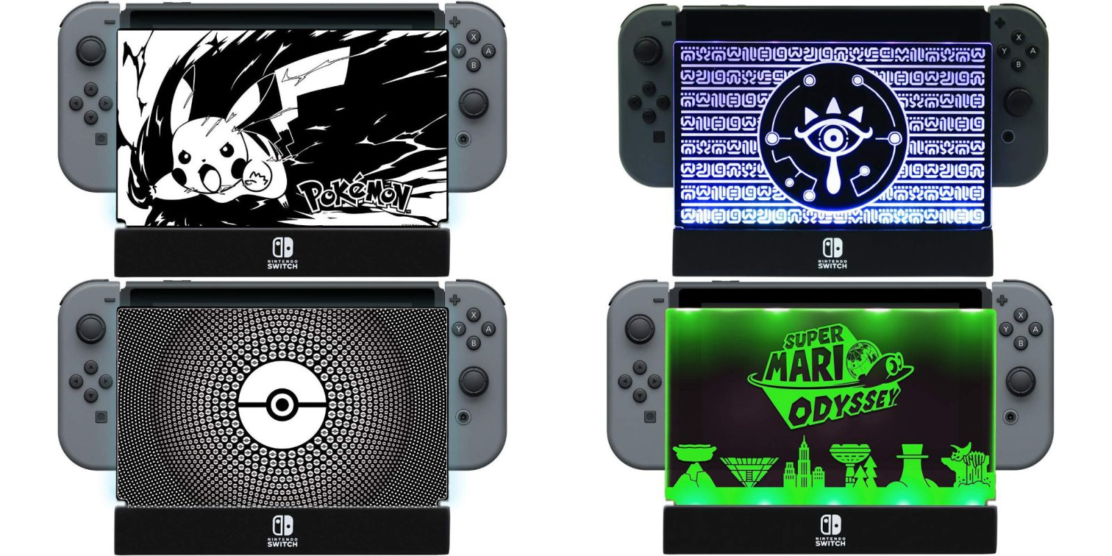 Switch It Up Toys : The pdp pokémon light up switch dock shield hits new