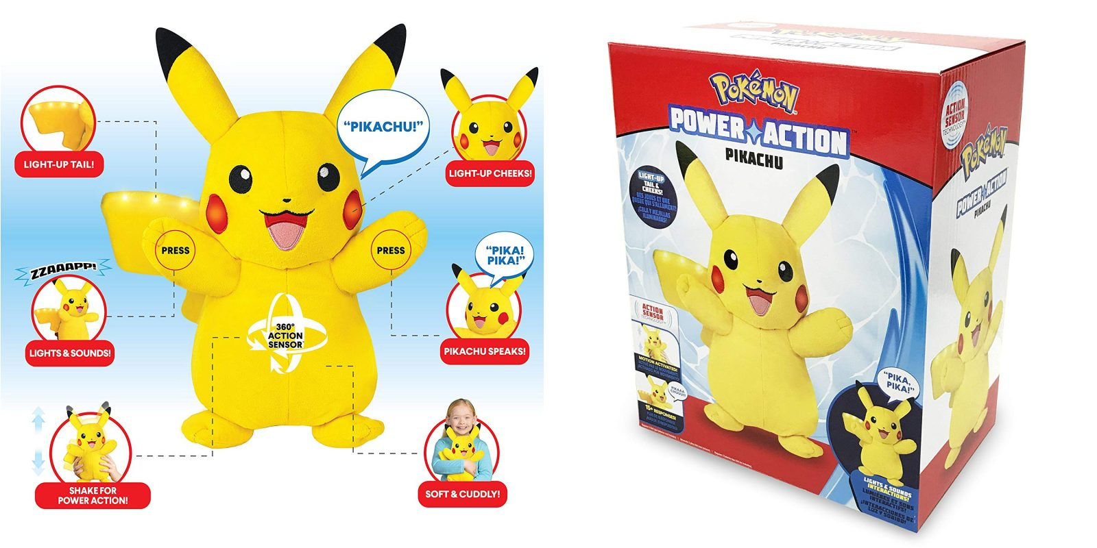 c93db55bbc20d Put the interactive Pokémon Power Action Pikachu under the tree for just  $15 shipped (Reg. $30)