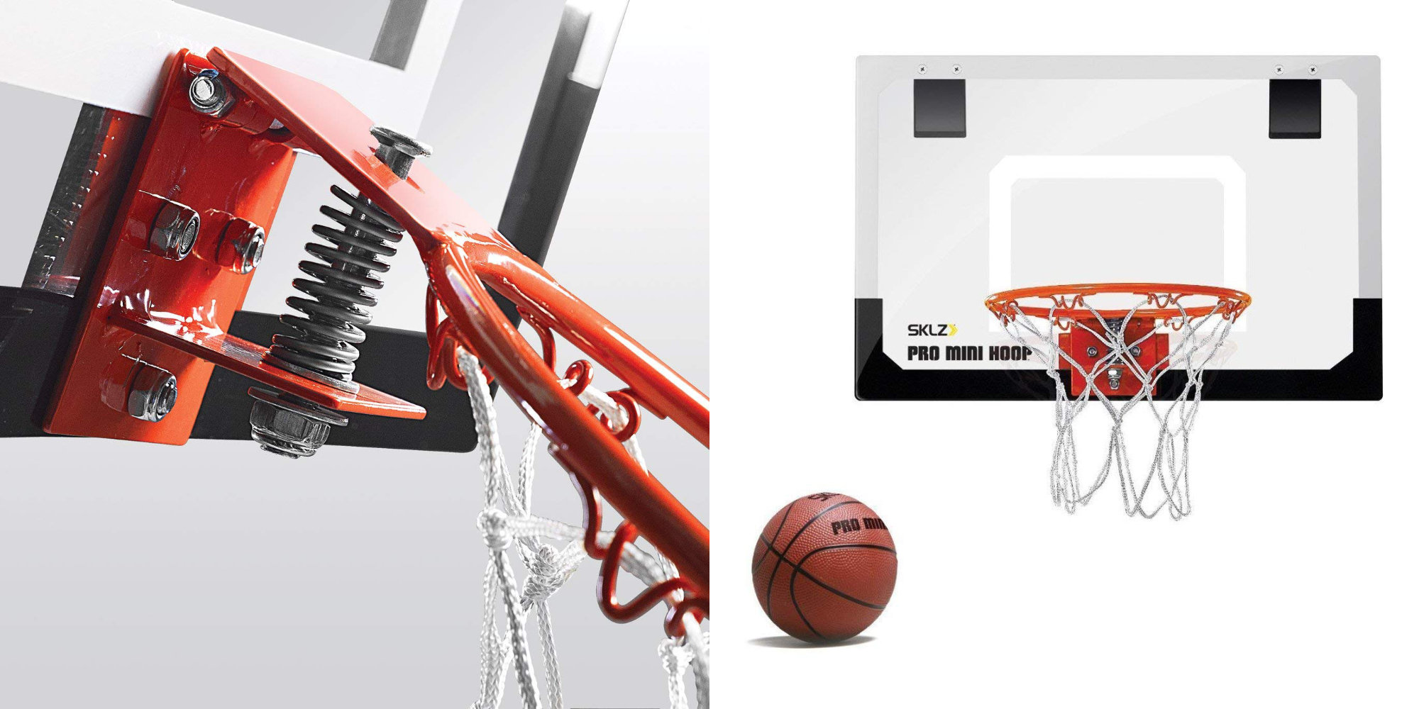 Show Off Your Sklz W The Pro Mini Basketball Hoop For An