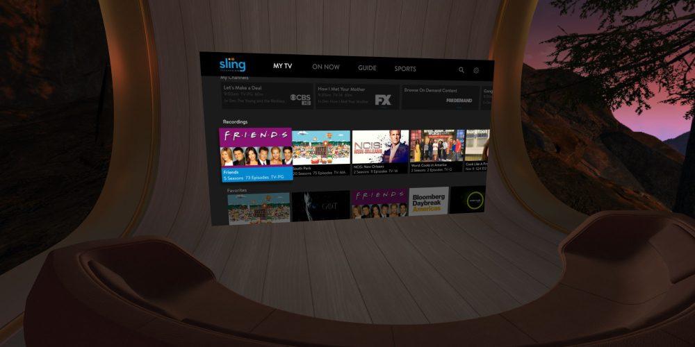 Sling TV Oculus Go