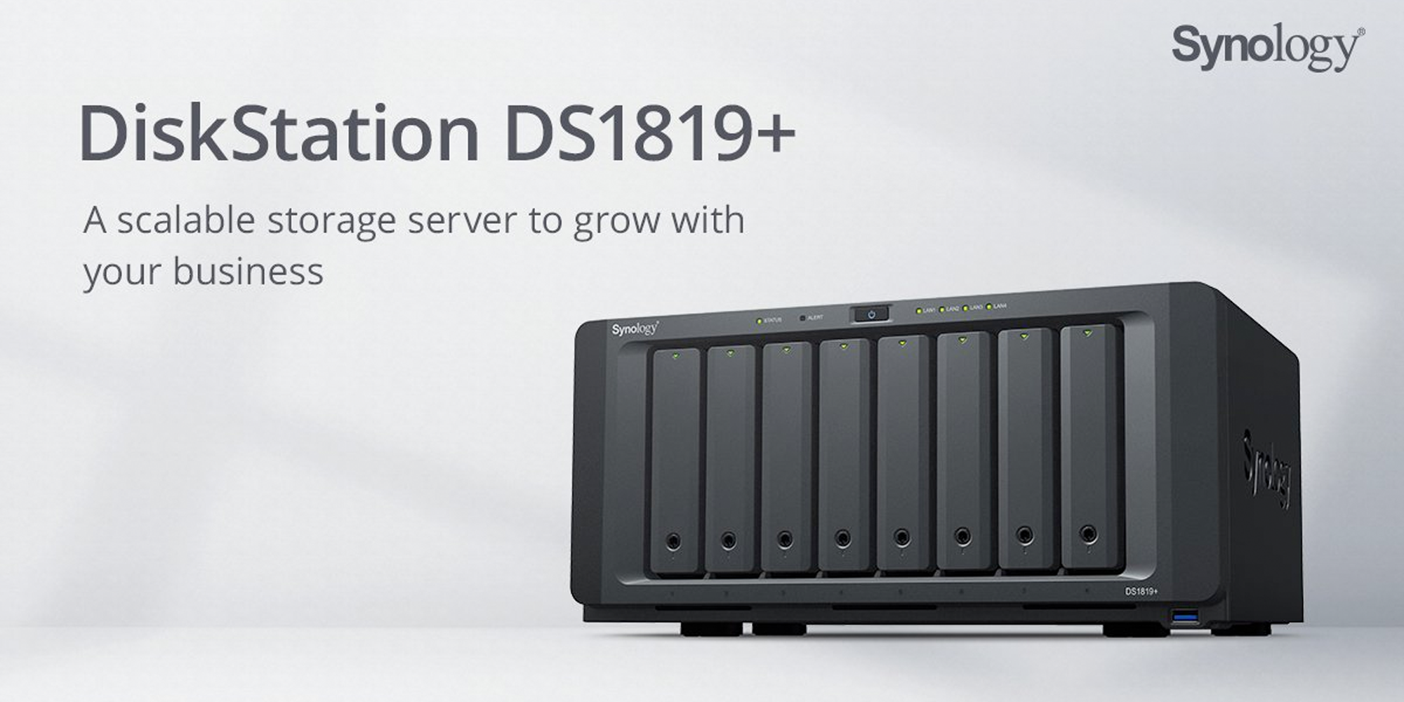 Synology S Ds1819 Can Have Up To 18 Storage Bays More