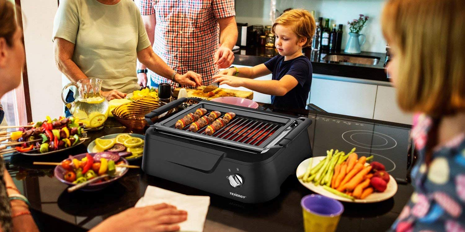 Take the BBQ indoors w/ Tenergy's Smokeless Infrared Grill for $135 shipped (Reg. $180)