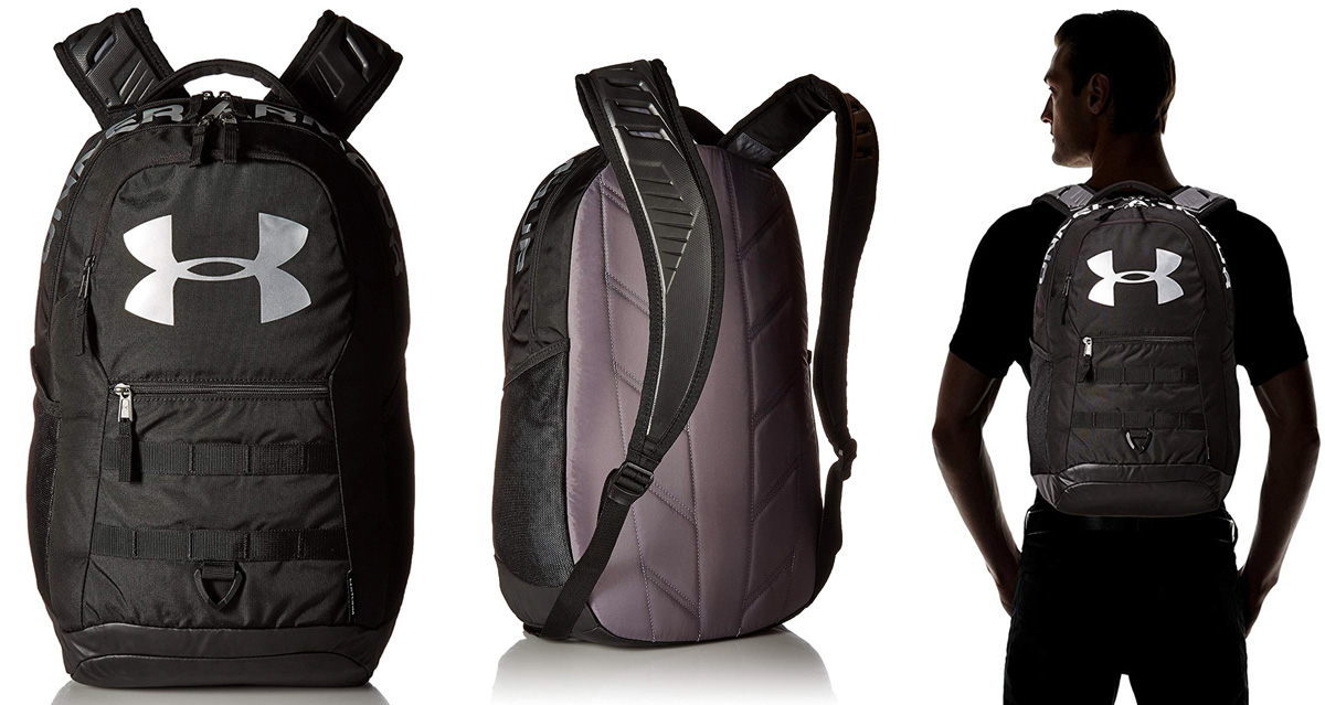 bd6c97f5ff Under Armour's Big Logo Backpack is at an all-time Amazon low: $29 shipped  (Reg. $70)