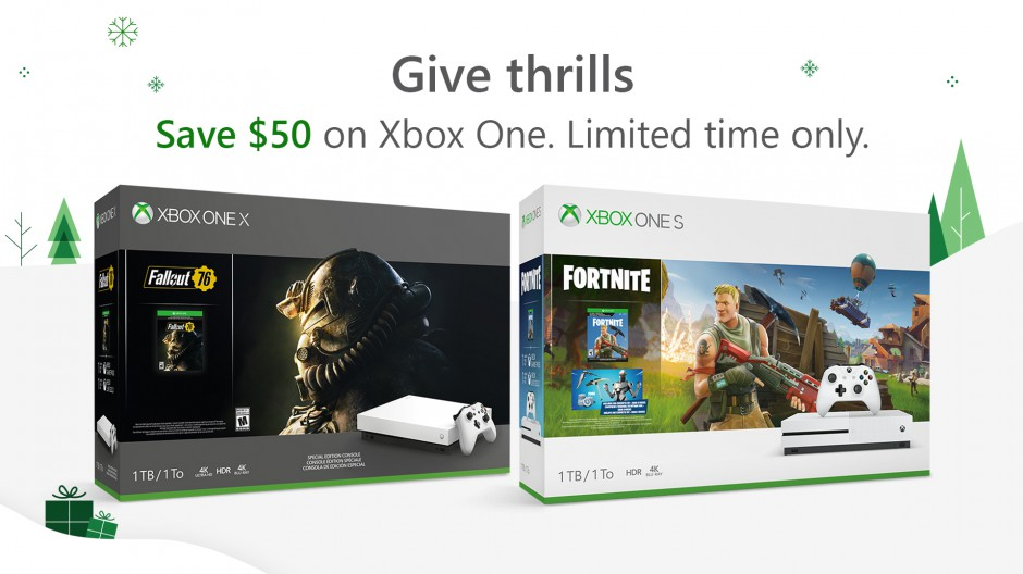 Xbox One holiday deals
