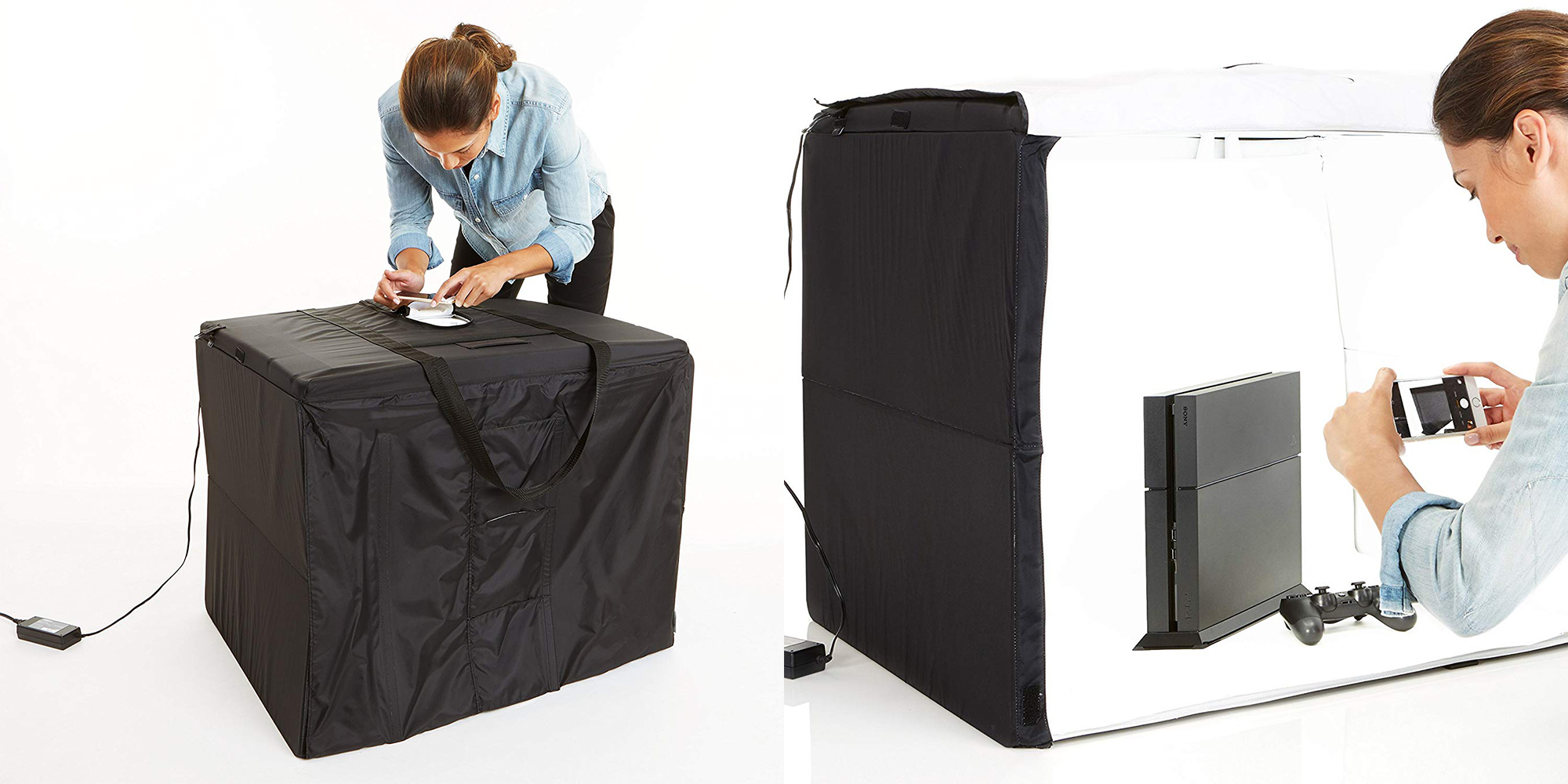 Take pro-grade images with the AmazonBasics Portable Photo Studio: $119.50 (All-time low)