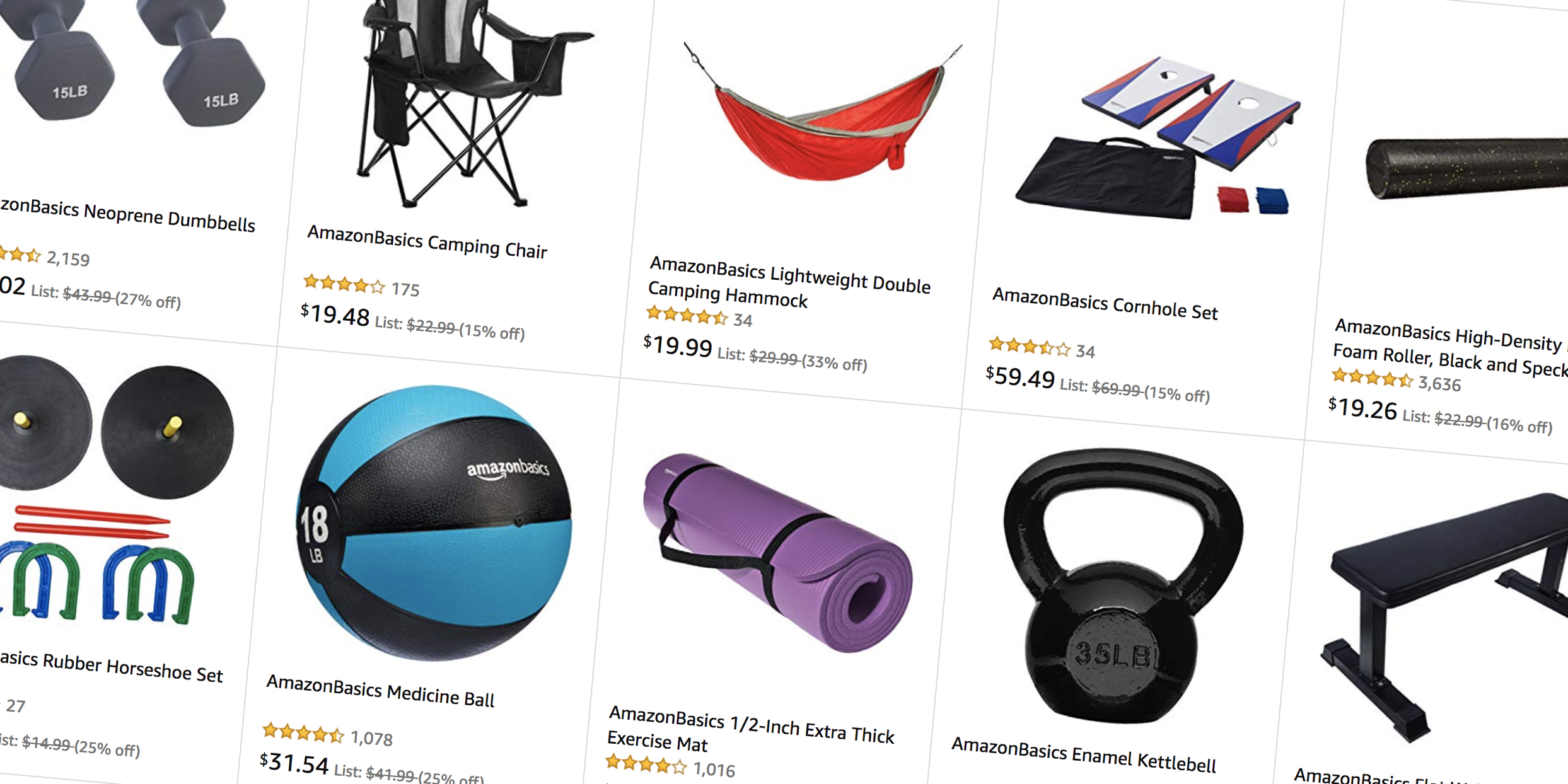 AmazonBasics sports equipment sale takes up to 30% off weights, yoga mats, exercise gear, more