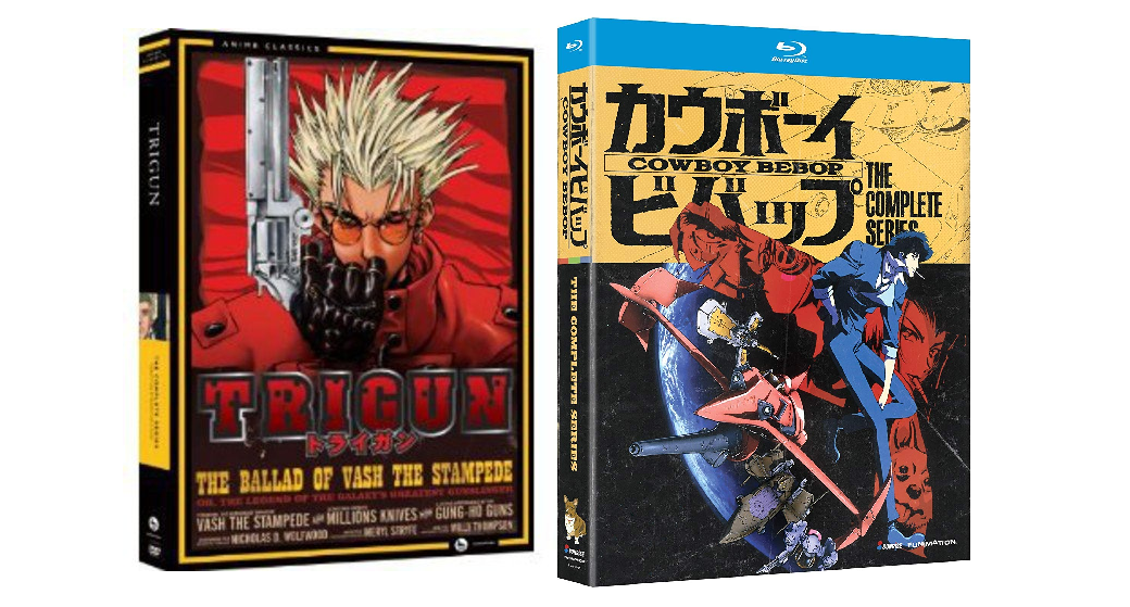 Amazon's Gold Box has full anime series & films from $11: Trigun, Cowboy Bebop, more