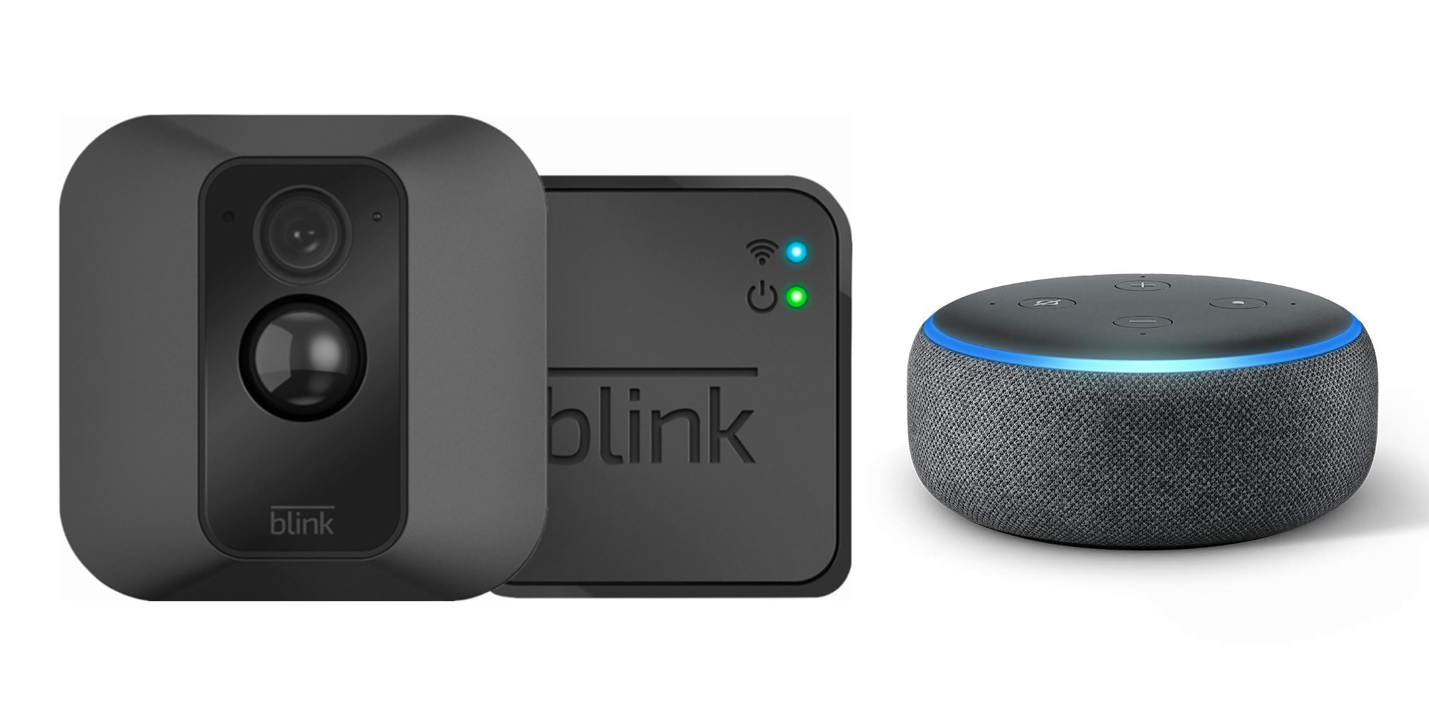 Bring home Blink\u0027s XT Security Camera System plus an Echo Dot for $79 shipped ($160+ value)