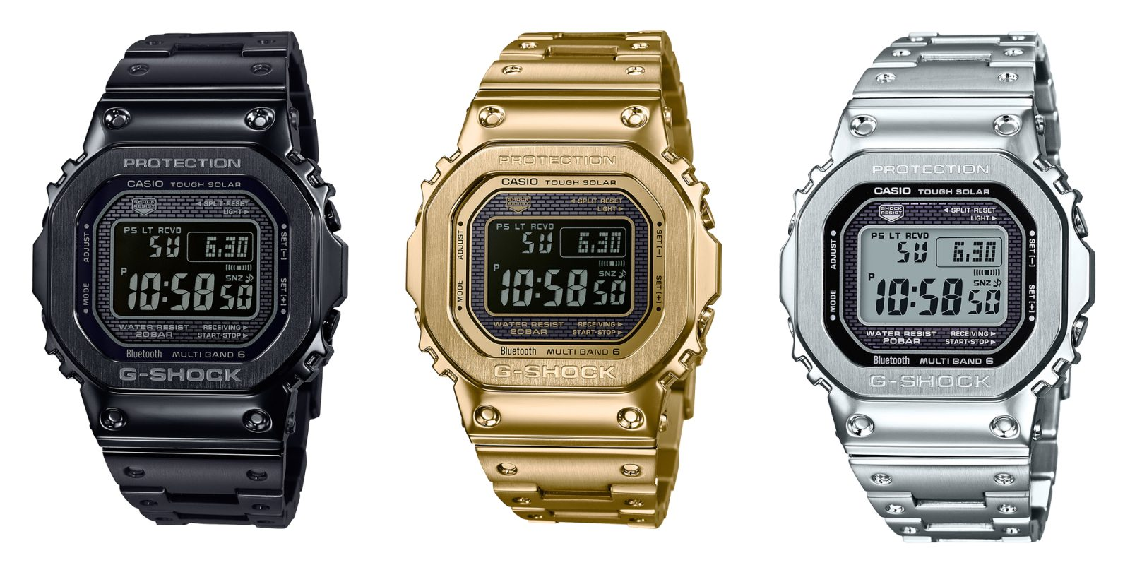 bdec36b4a48 Casio s latest release is a full-metal G-Shock watch with retro-inspired  design cues