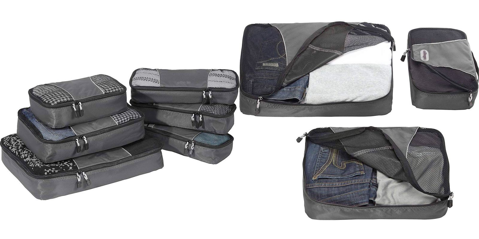 600c15d0ca23 Stay organized on your next trip w/ this 6-piece eBags packing cube ...
