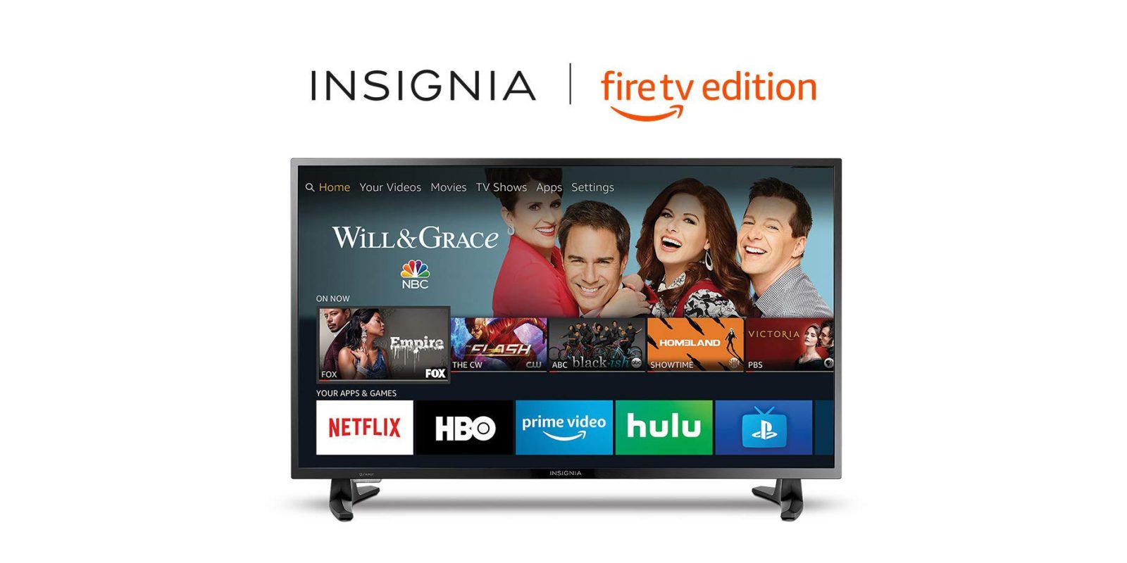 Insignia's 55-inch Fire TV Edition includes 4K HDR + Echo Dot for $300, more