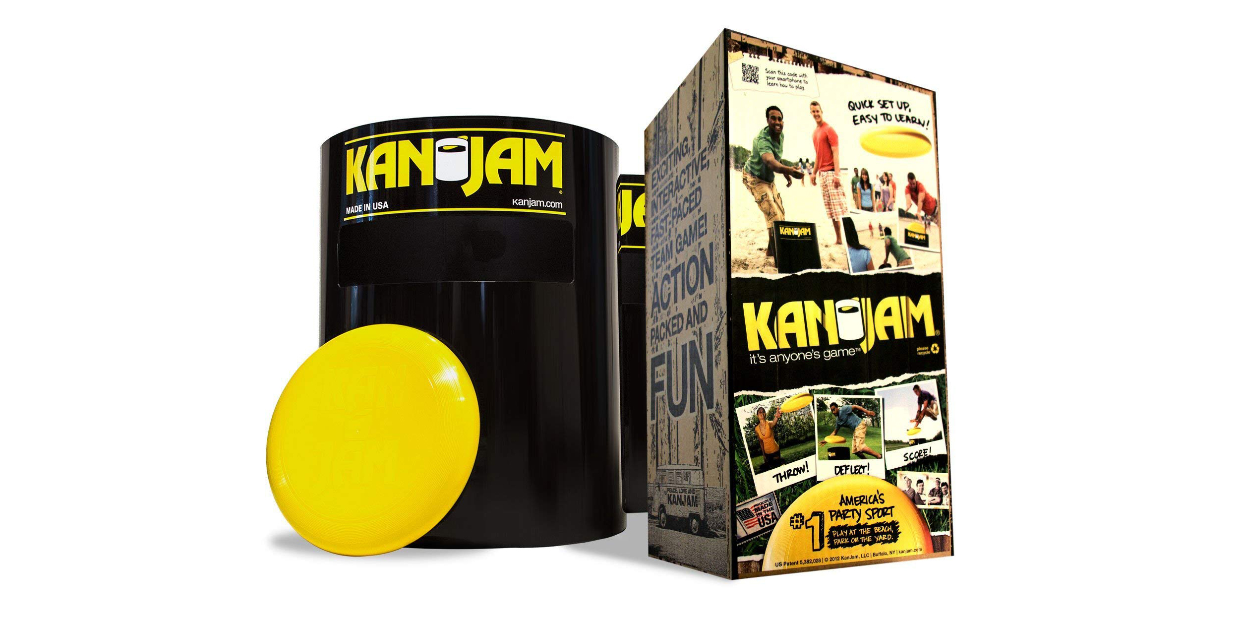 The popular Kan Jam Ultimate Disc Game is perfect for warm weather, now $30 (Reg. $40)