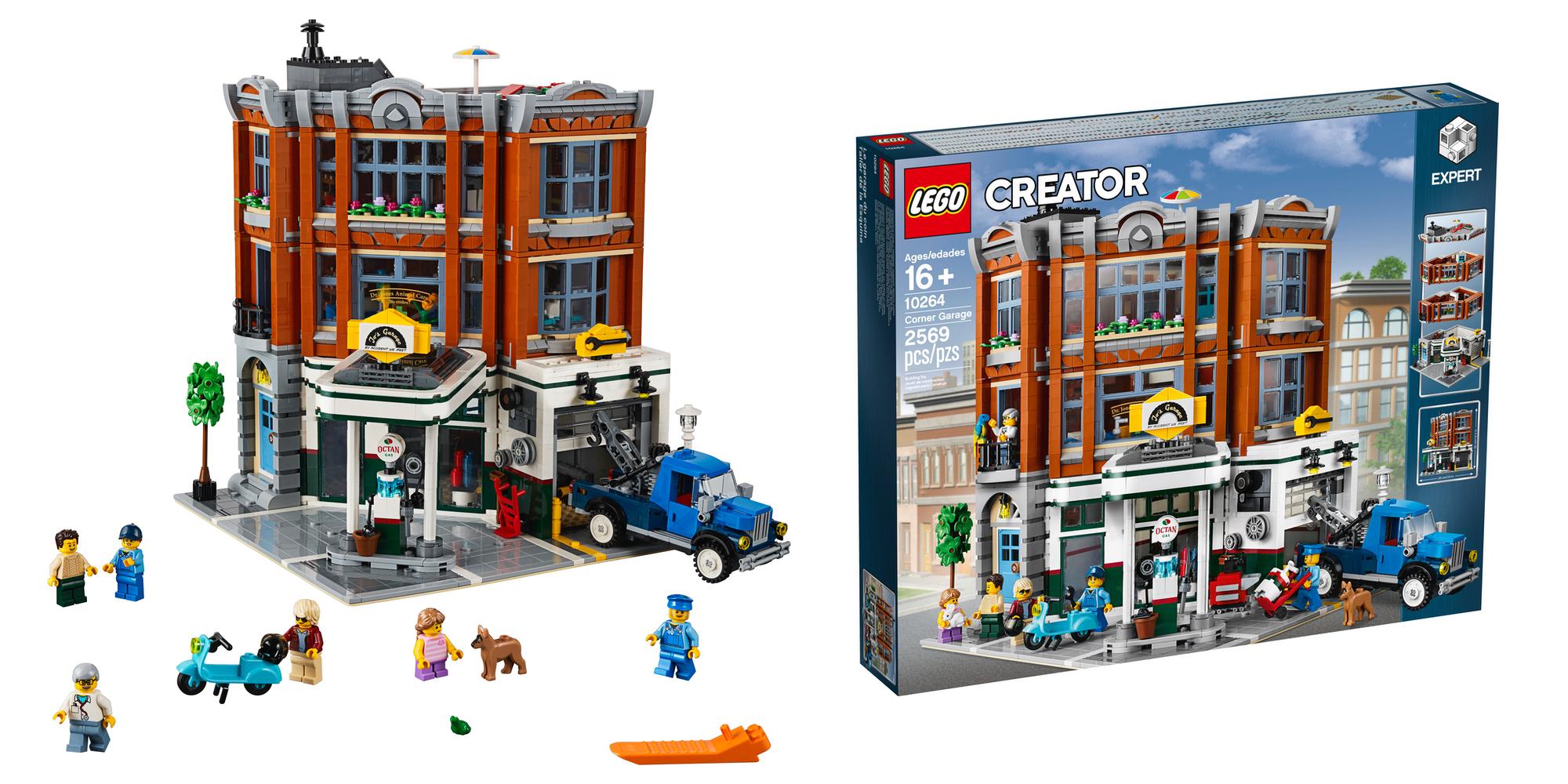 LEGO Creator Expert Corner Garage Box