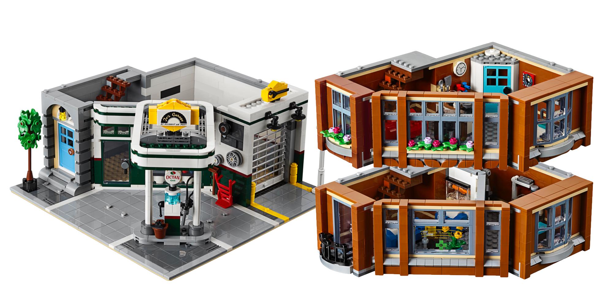 LEGO Creator Expert Corner Garage Floors