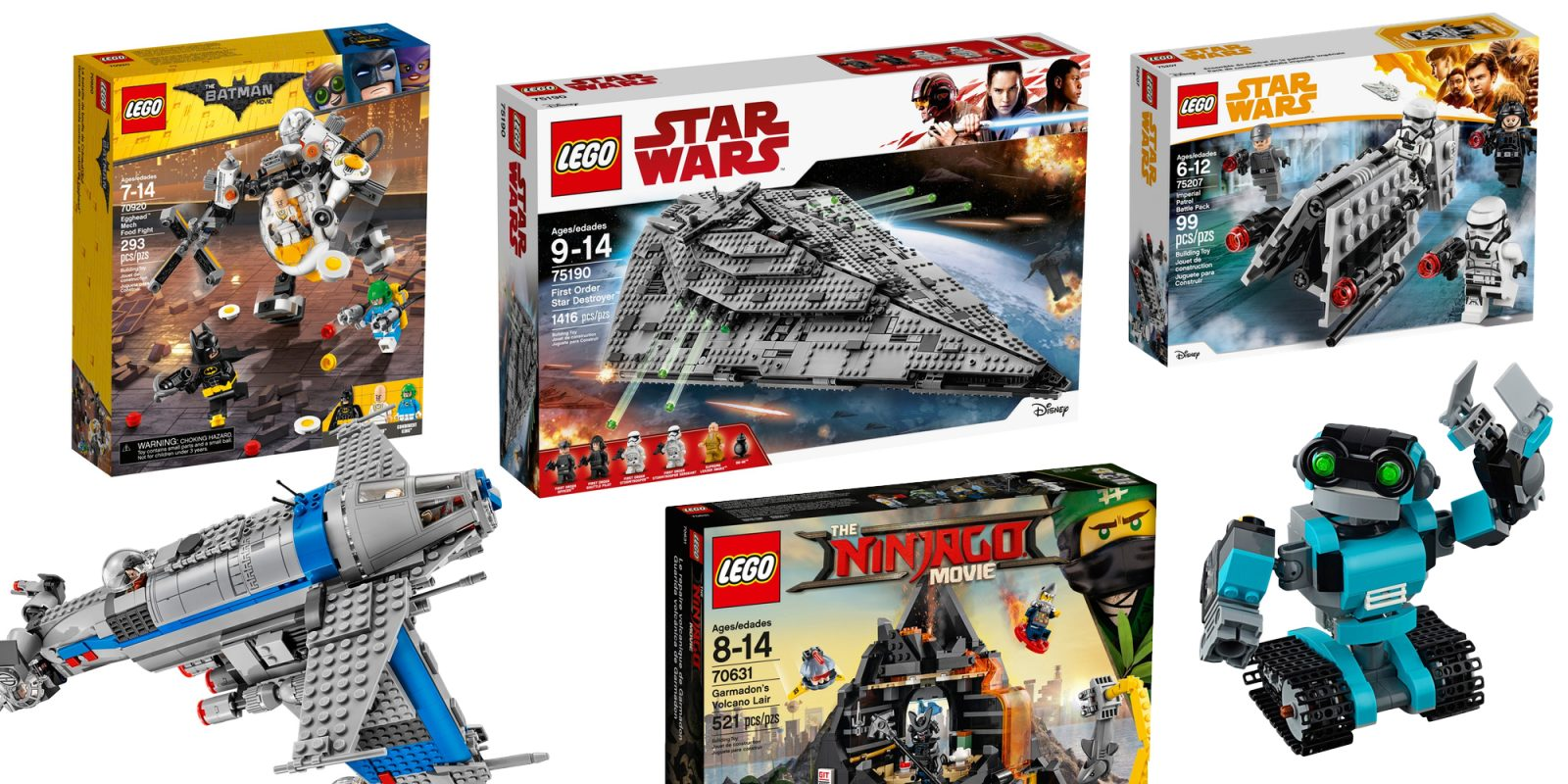 Save Up To 55 On Lego Star Wars Batman More From 6 First Order