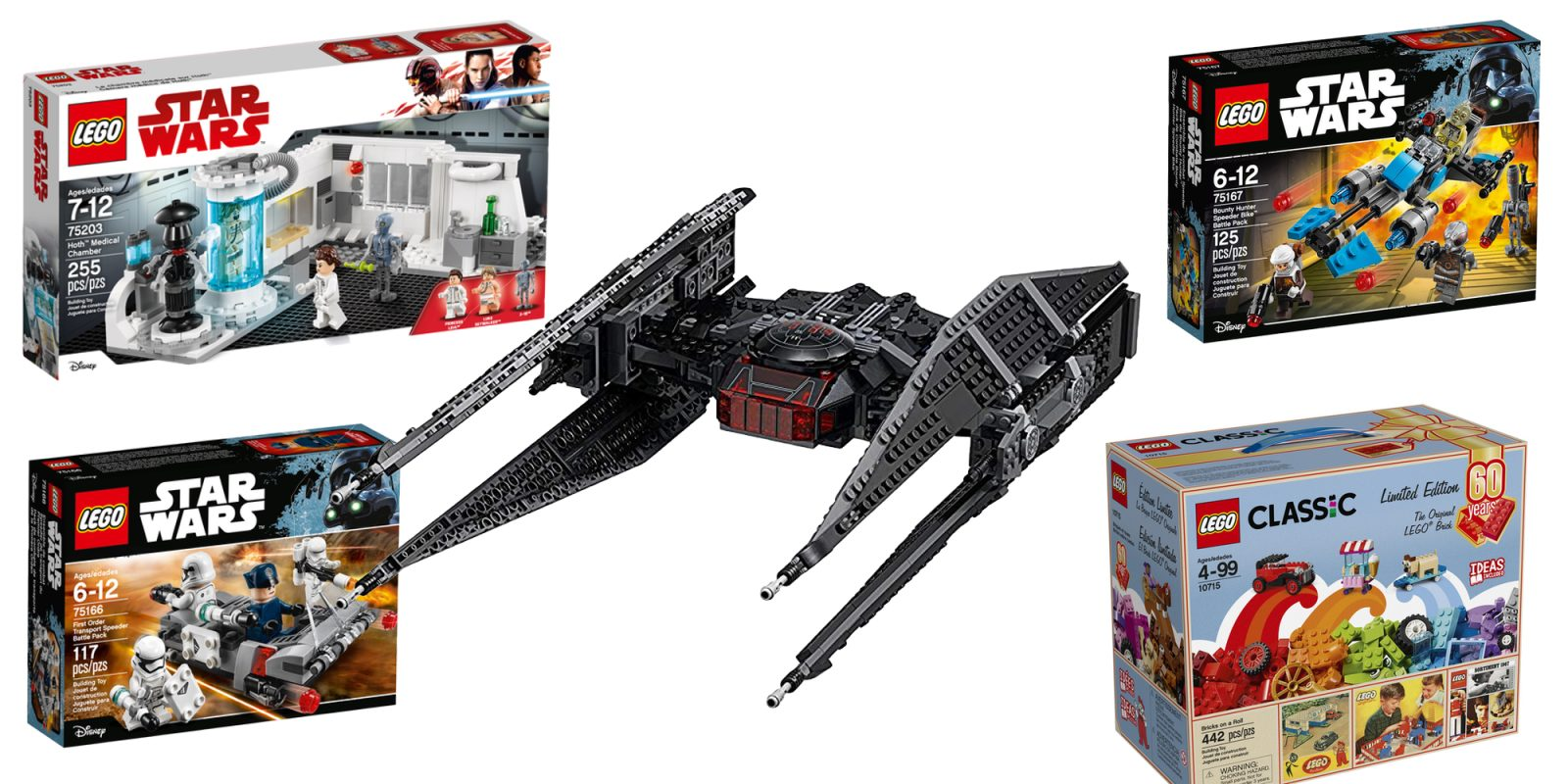 Travel to galaxy far far away w these lego star wars sets kylo rens tie fighter 51 more from 6