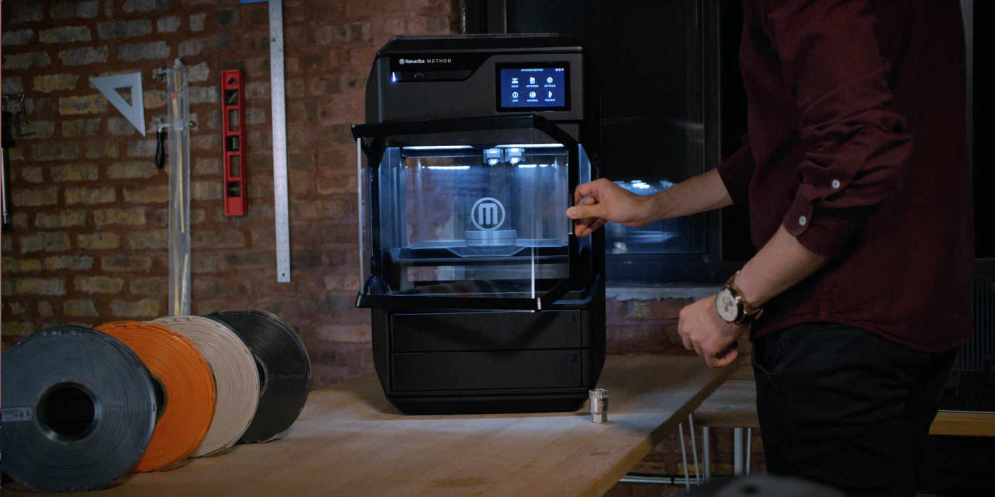 MakerBot's new Method 3D Printer pairs industrial precision with a desktop design and premium cost