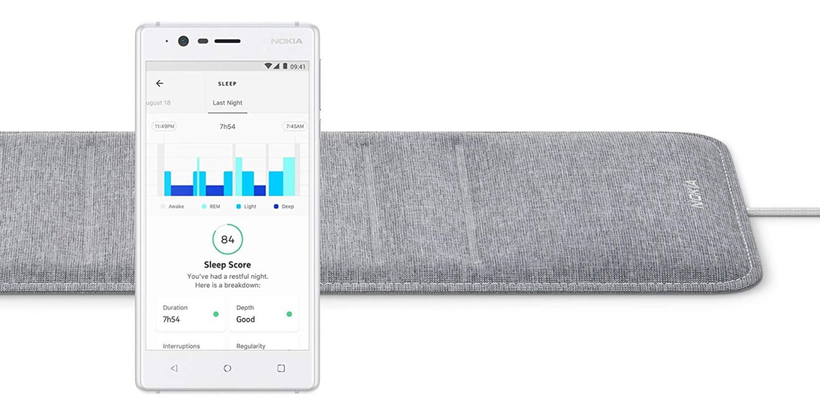 Withings HealthKit Sleep Tracking Pad can detect sleep apnea at $80 (Save 20%)