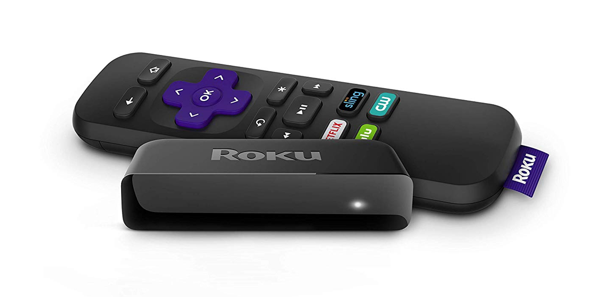 Add smart capabilities to your TV with the Roku Express Streaming Stick from $24