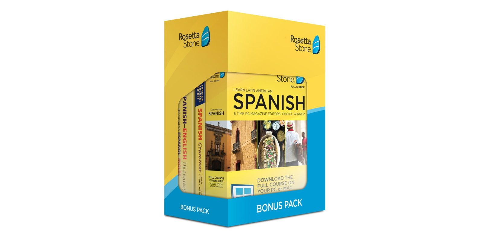 The award-winning Rosetta Stone language software can be