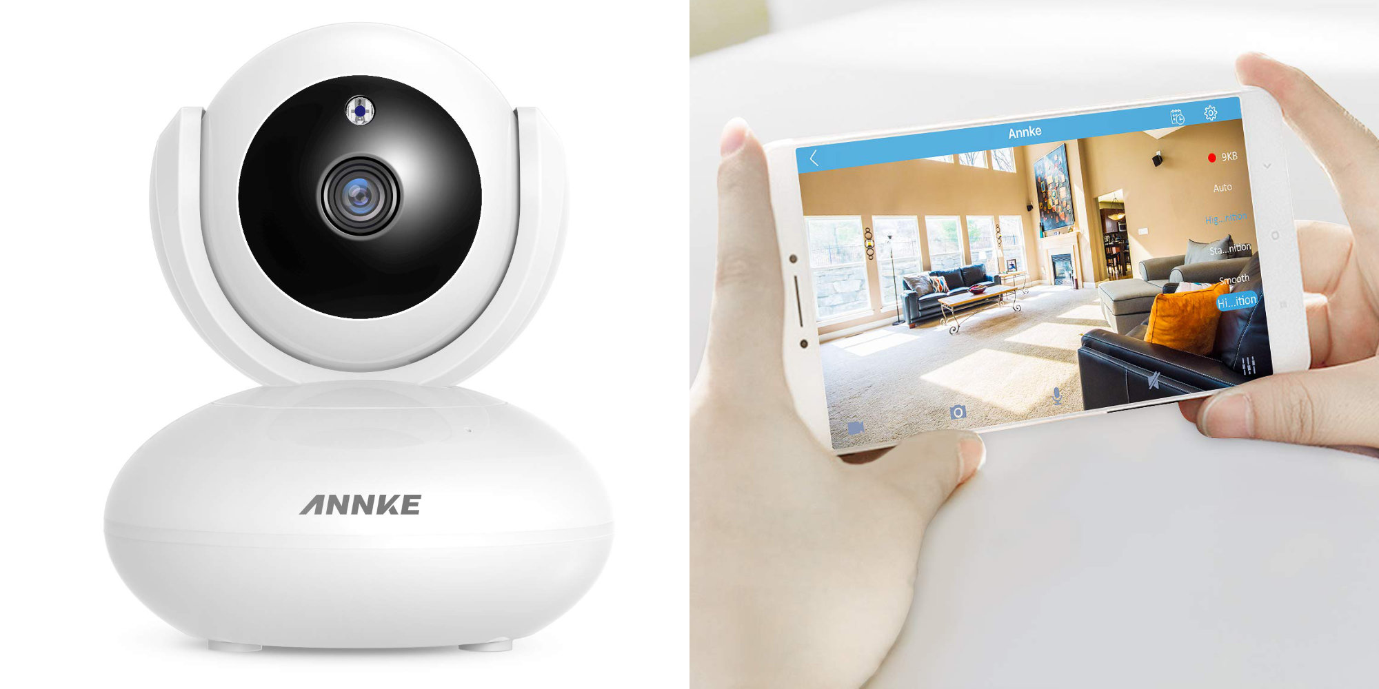Pay less than Wyze w/ Annke's 1080p Pan & Tilt Camera at $24 shipped
