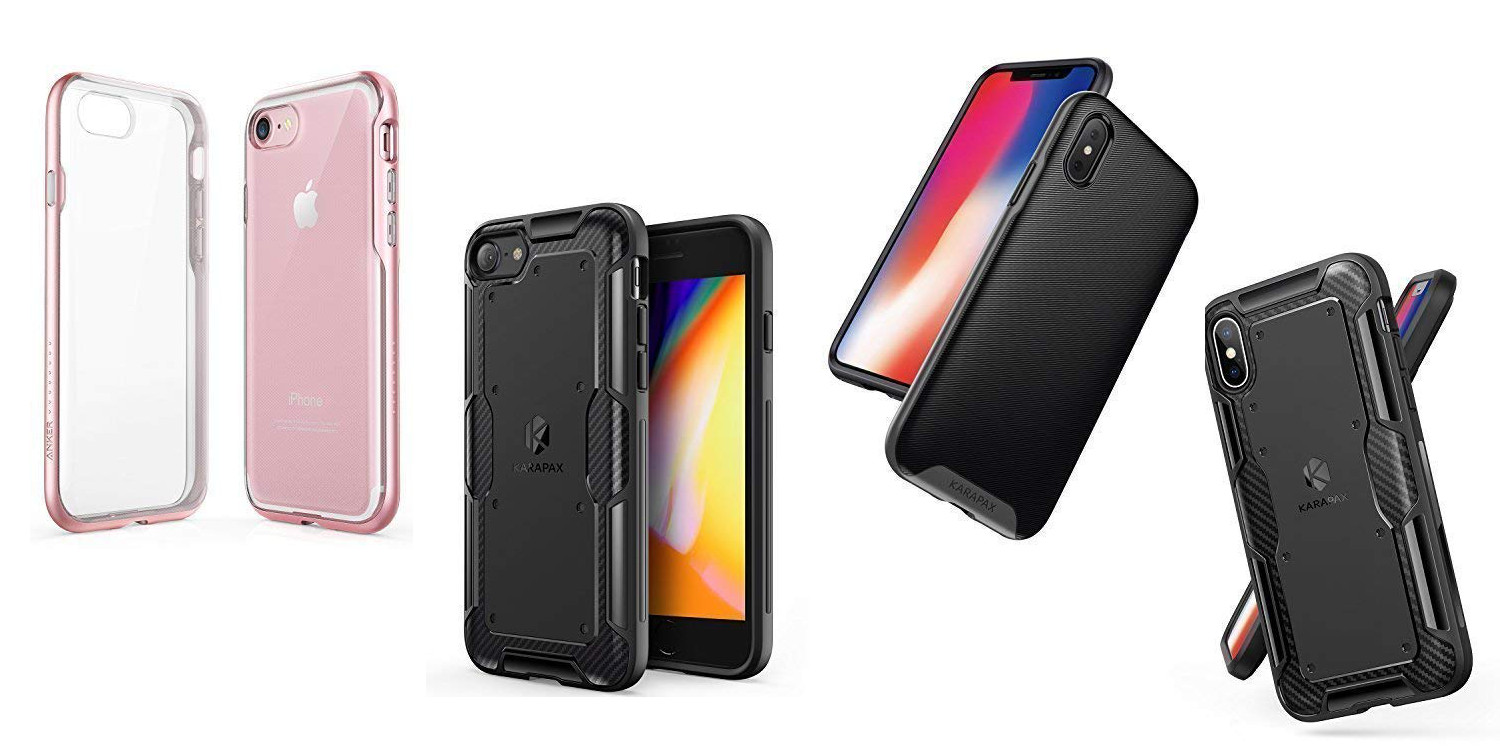 Anker iPhone X/8/7 cases down to $4 shipped right now: Soft TPU, KARAPAX, Ice Lite, more