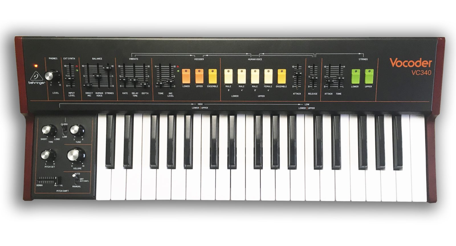 Behringer officially unveils pricing for its new vintage