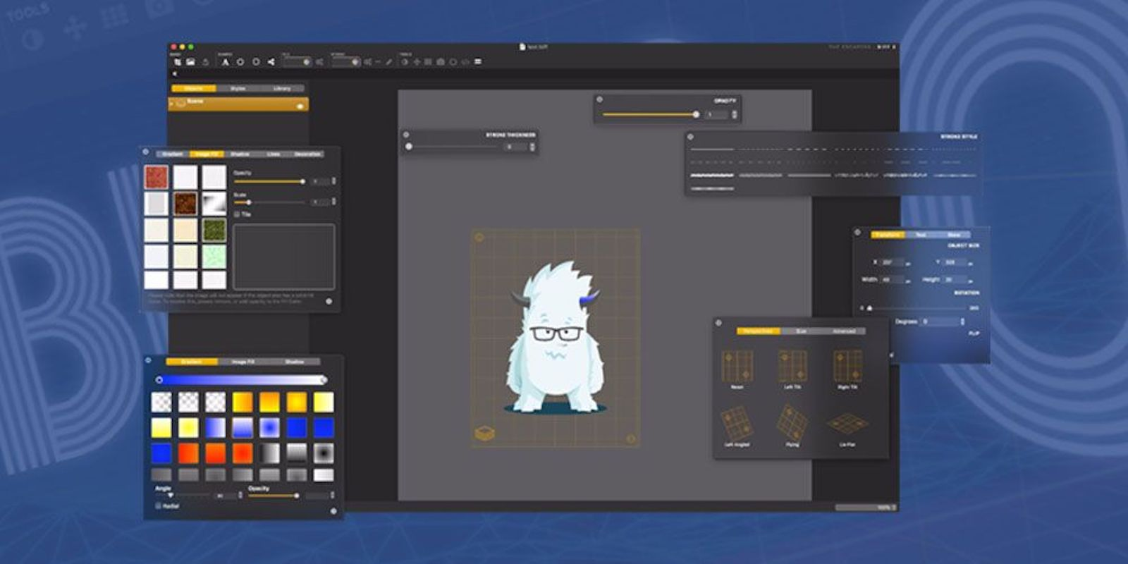 Create stunning logos and mockups in minutes with Biff 2 for $10