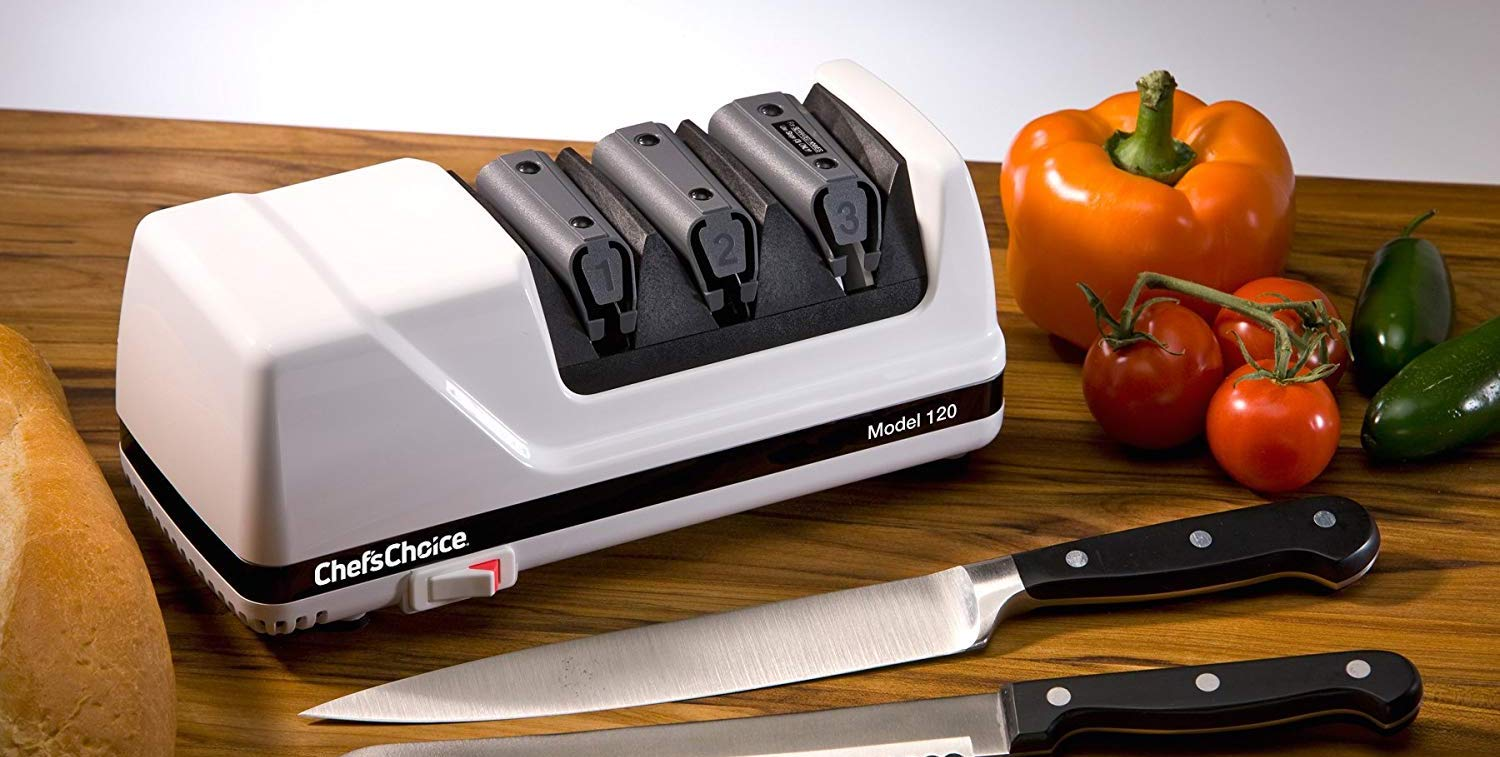 Breathe new life into your knives w/ the Chef'sChoice Electric Sharpener for $90 (Reg. up to $150)