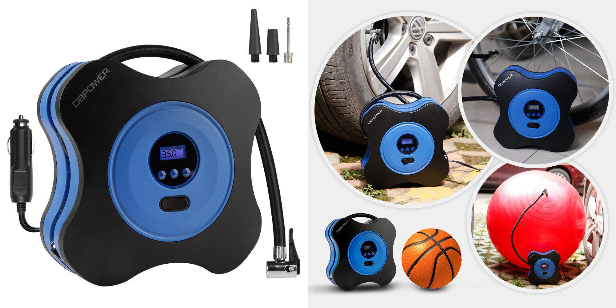 Set the PSI and let this tire inflator do the rest: $15 at Amazon (Reg. $20)
