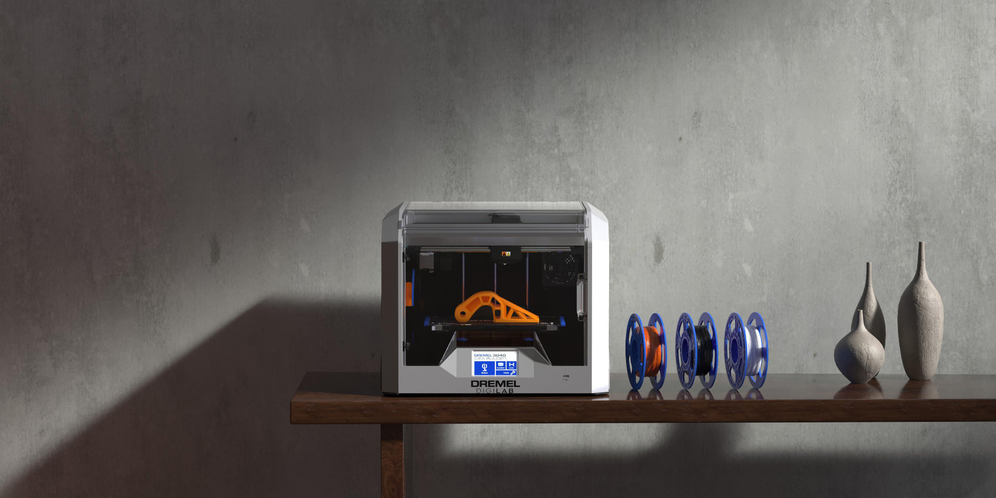 Dremel's latest 3D Printer has a flexible build plate and supports up to 30% faster printing