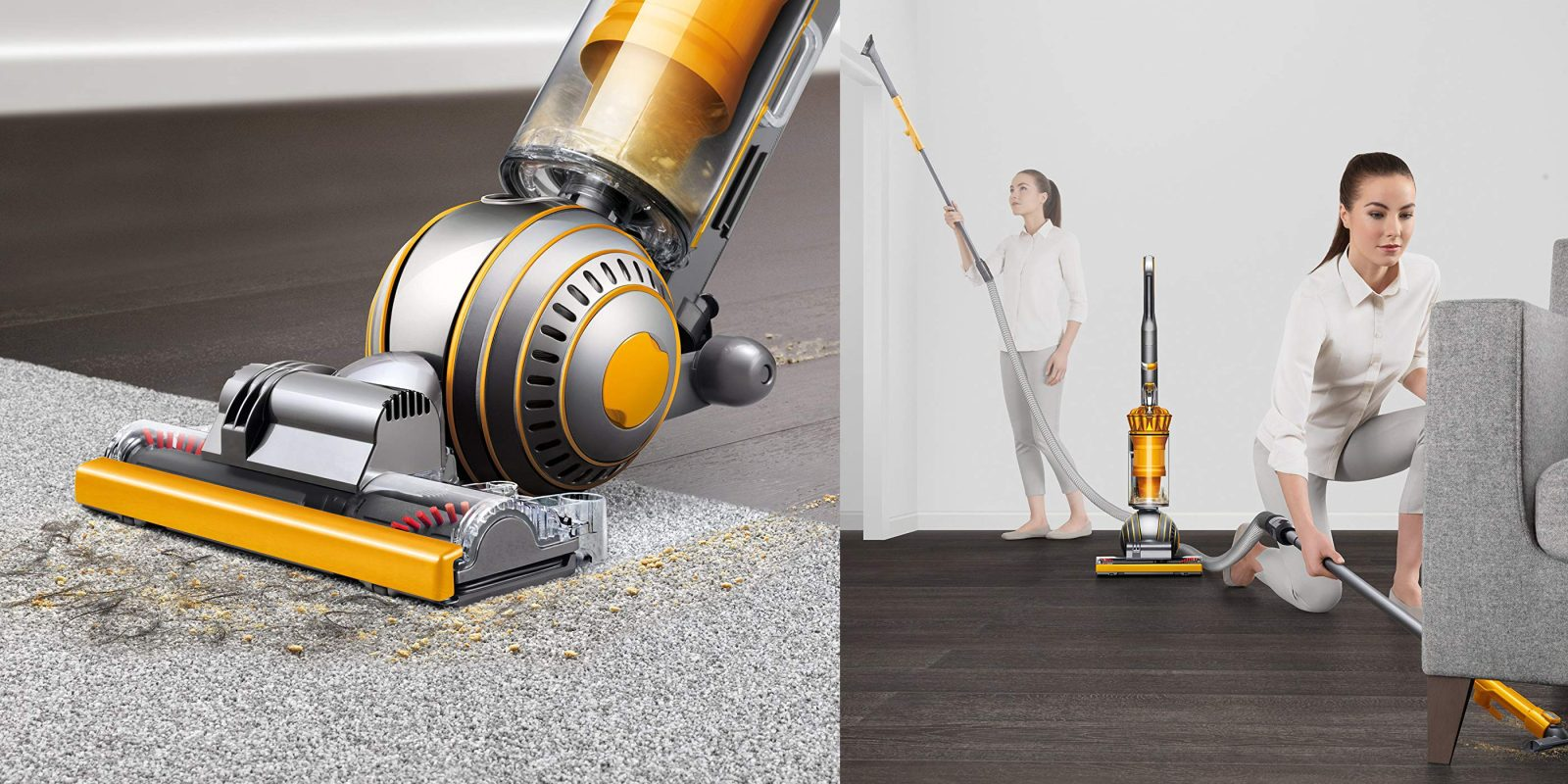 Save big on a Dyson Ball vacuum at Amazon, cert. refurb $175 (Orig. $400)