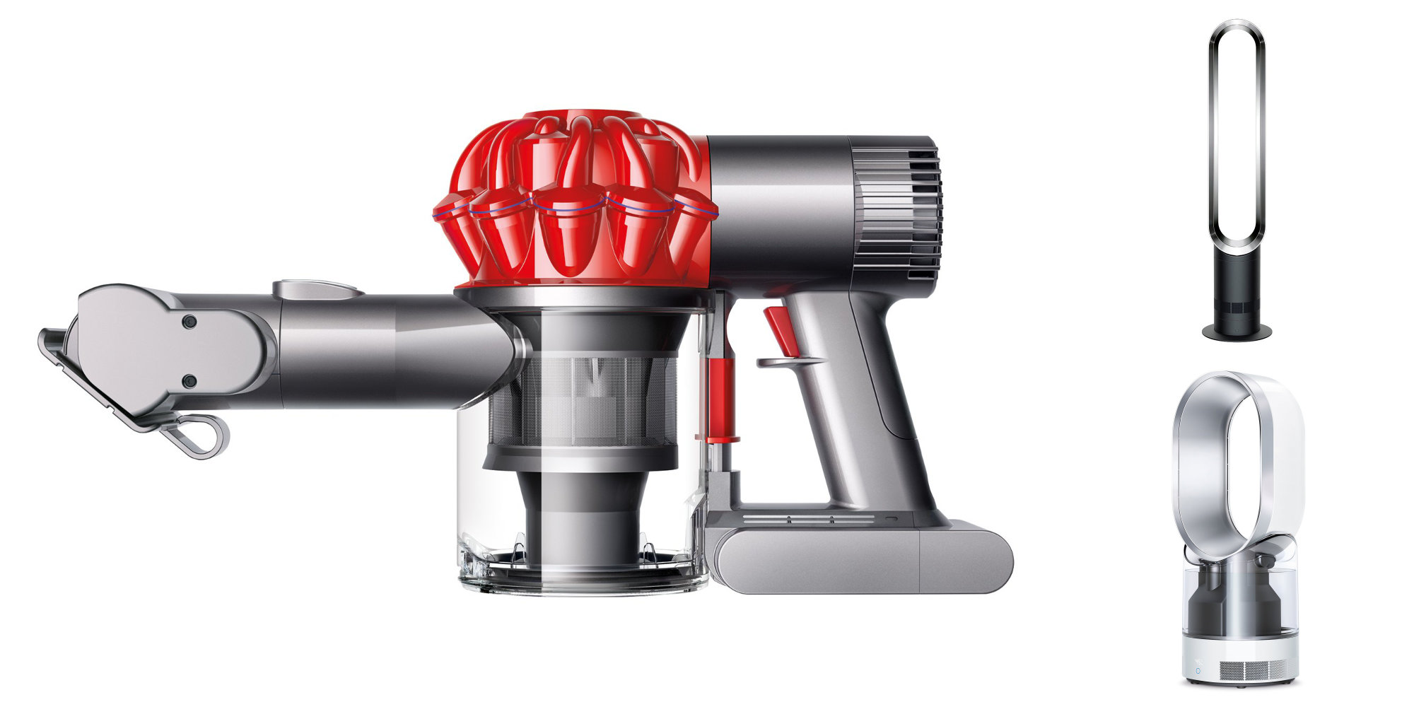 Select refurb Dyson products are 50% off: Car + Boat Vacuum $93.50, Tower Fan $136, more