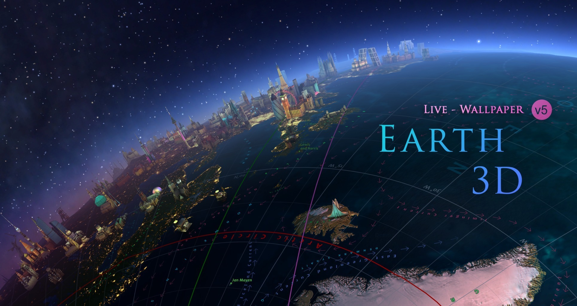 Live wallpaper app Earth 3D for Mac has now dropped down to just $1 (Reg. $3)