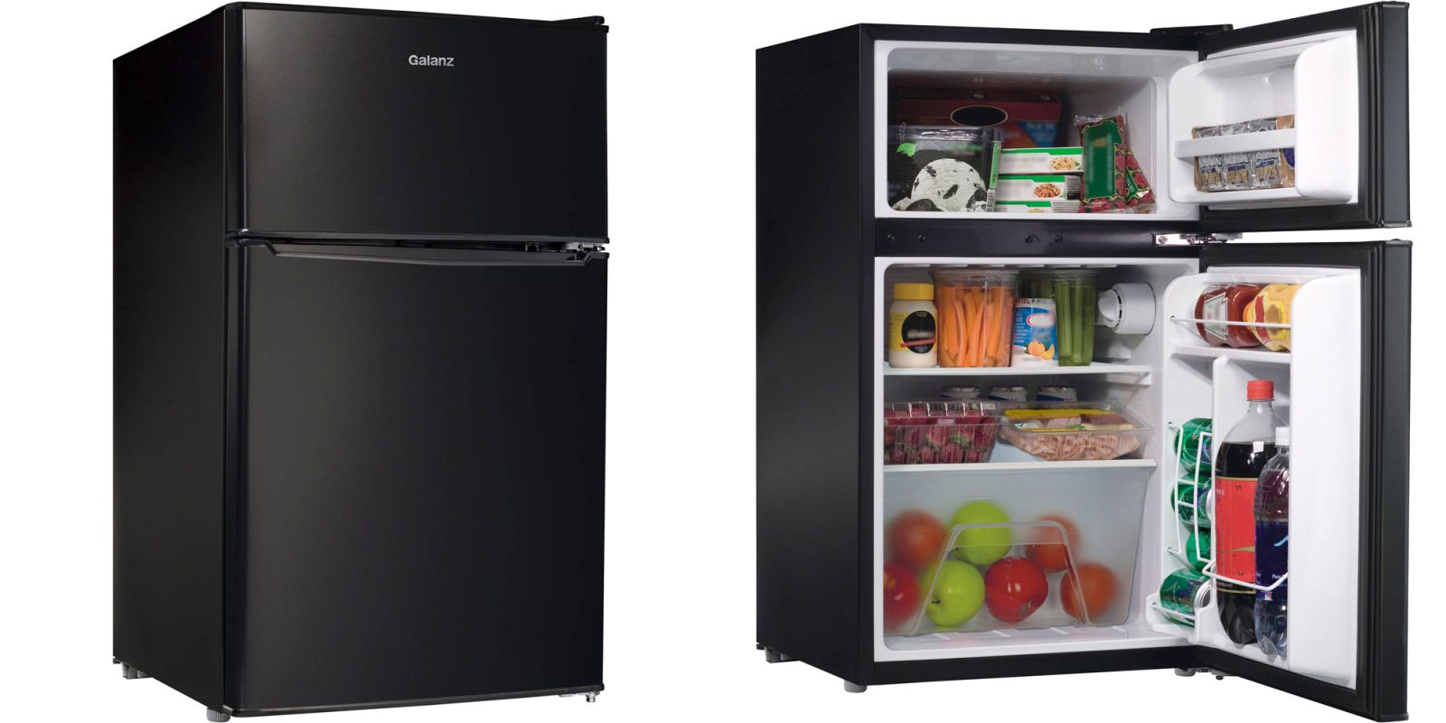 This 3 1 Cu Ft Mini Fridge Is Perfect For The Dorm Or