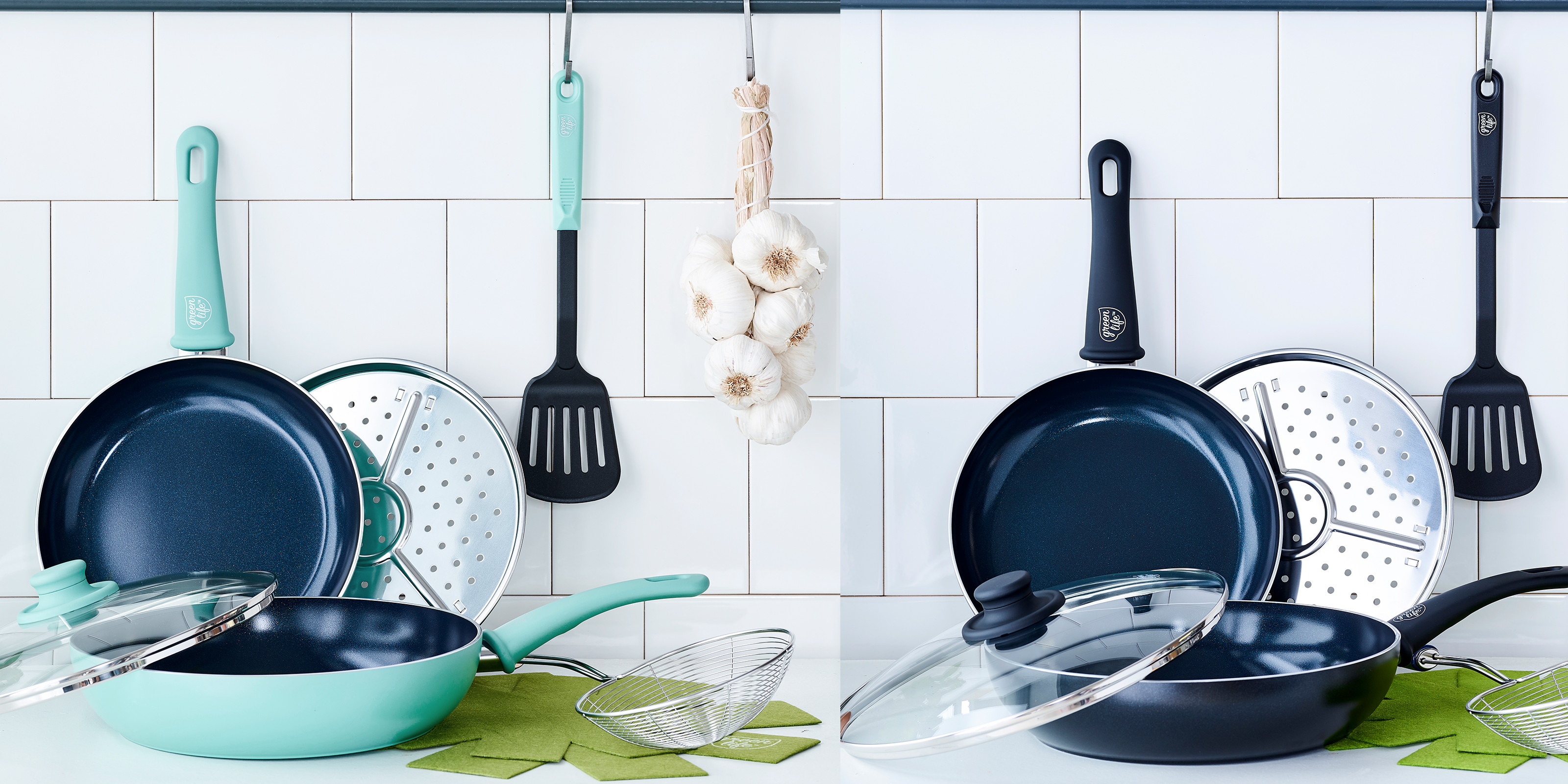 The toxin-free GreenLife Diamond Non-Stick Cookware Set is just $19 at Walmart (Reg. $32+)