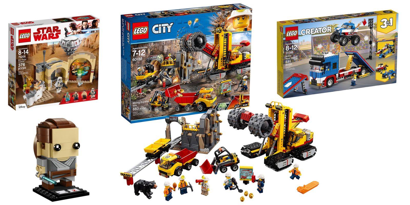 Save Up To 35 On Lego Brickheadz City Creator Star Wars And More