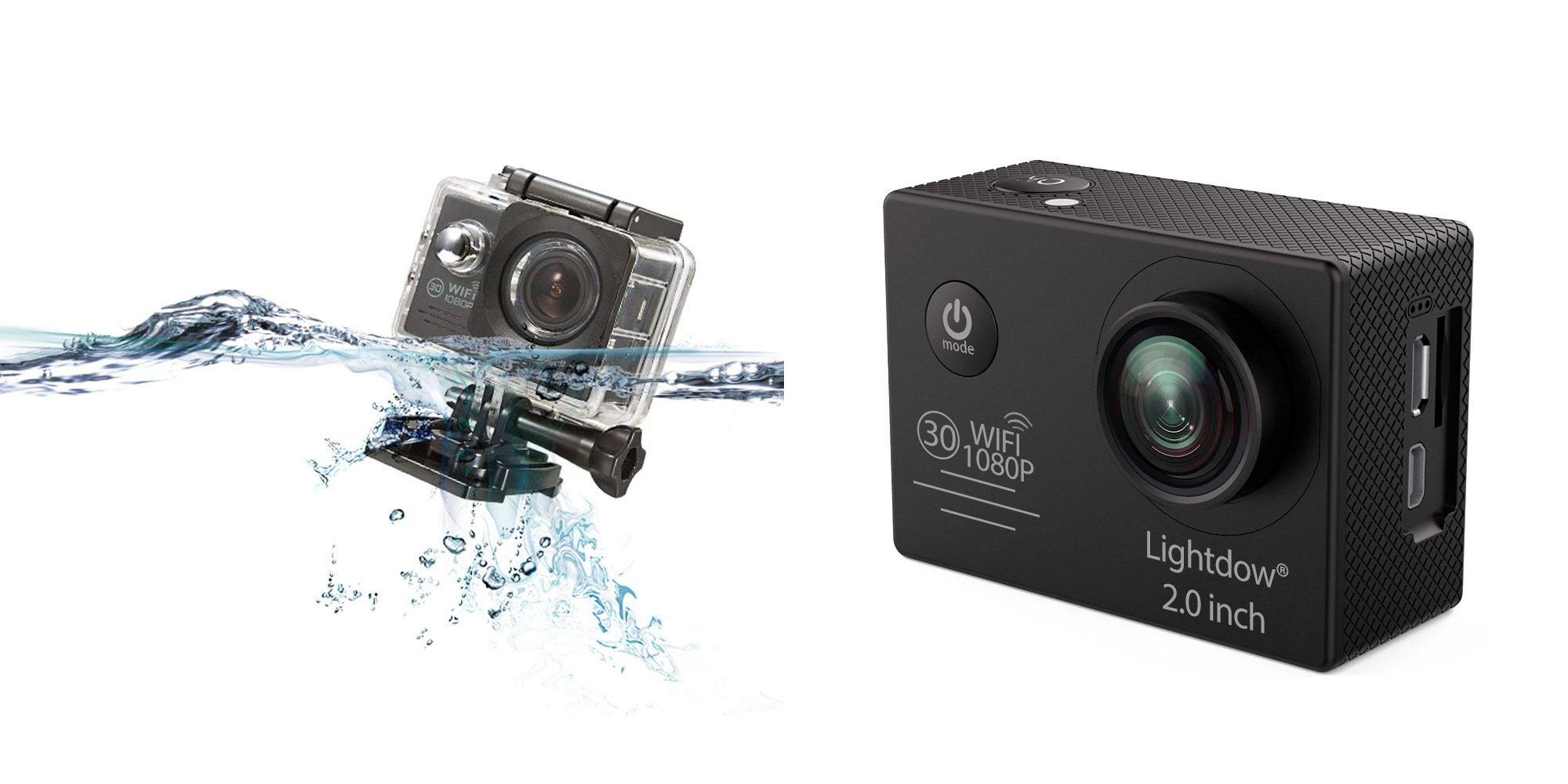 This budget-friendly $24 action camera packs 1080p recording, 30m waterproofing, & more
