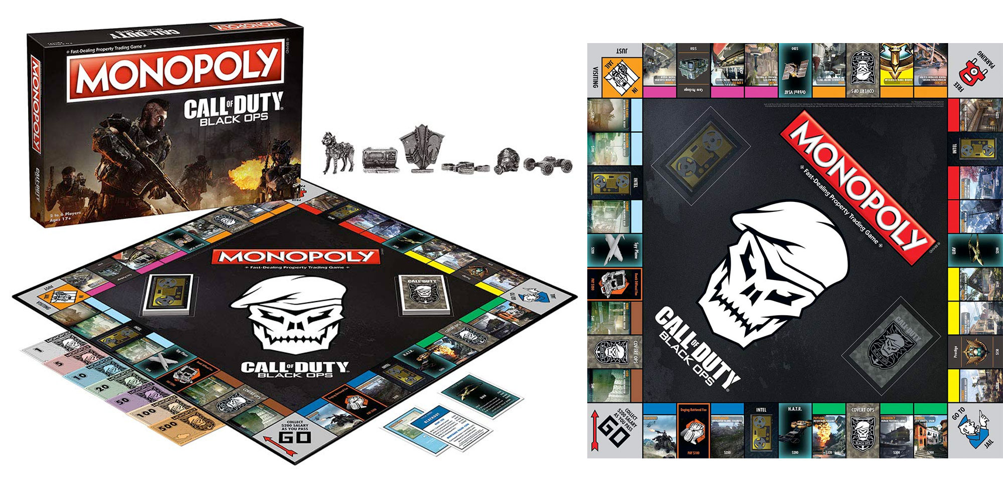 Stay warm & play Monopoly Call of Duty or BoJack Horseman during the cold weather from $9.50