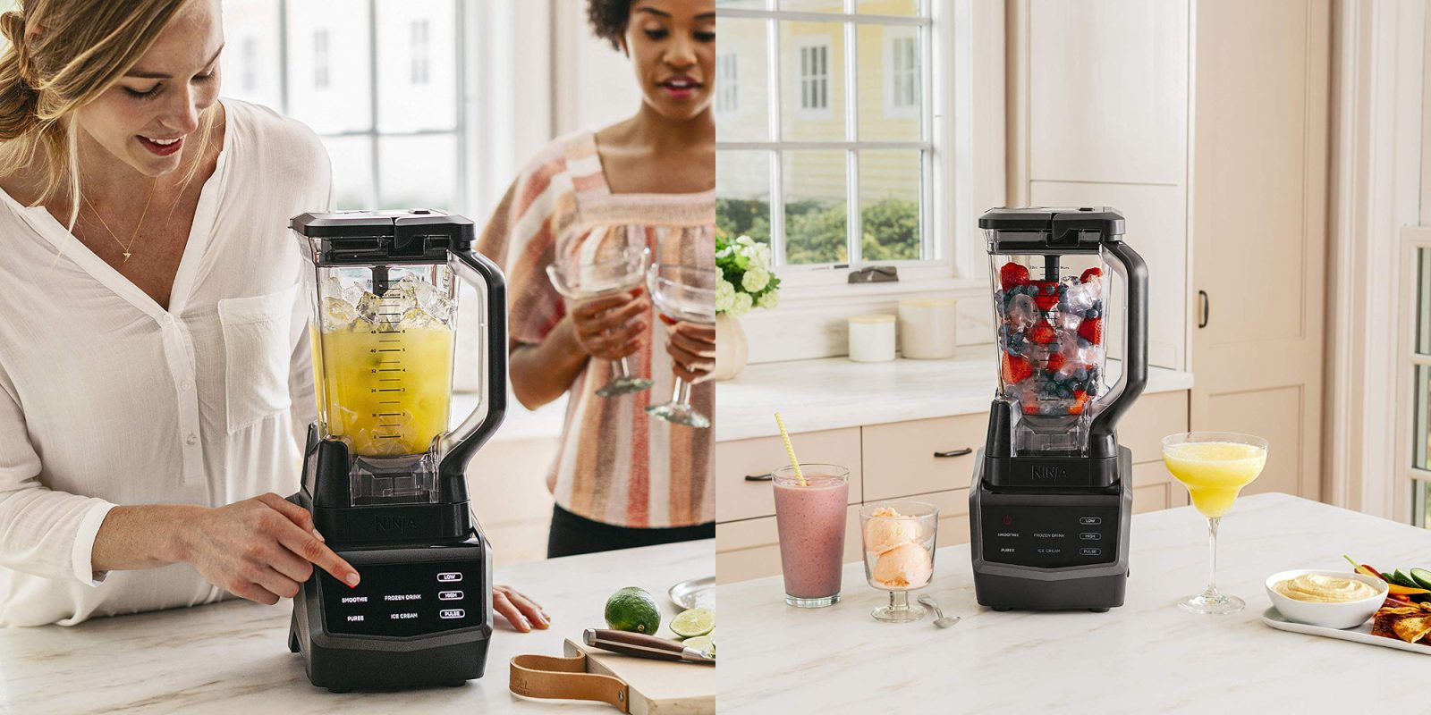 Ninja's touchscreen blender makes the perfect smoothie: $70 (Reg. up to $130)