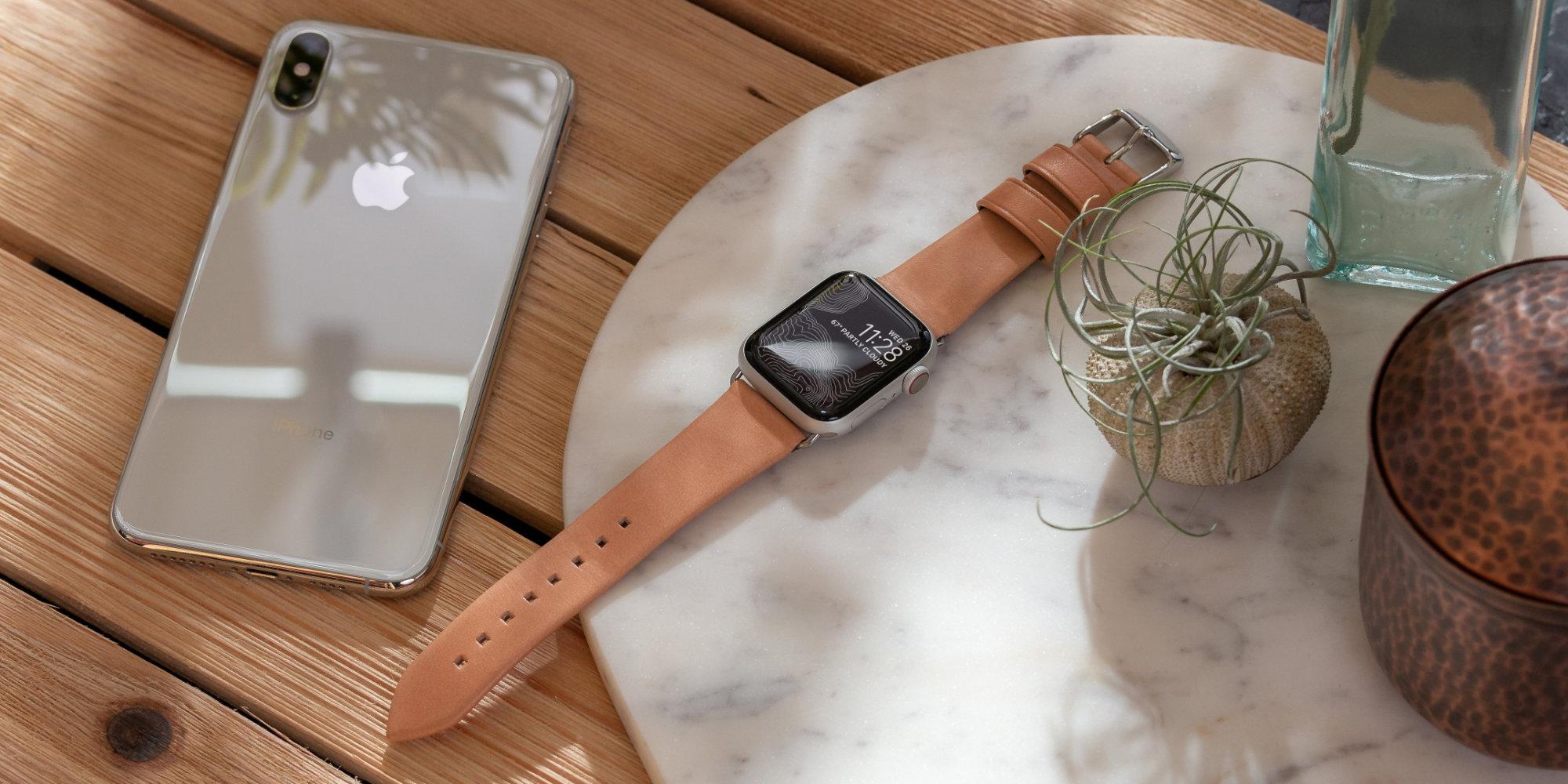 Nomad leather strap
