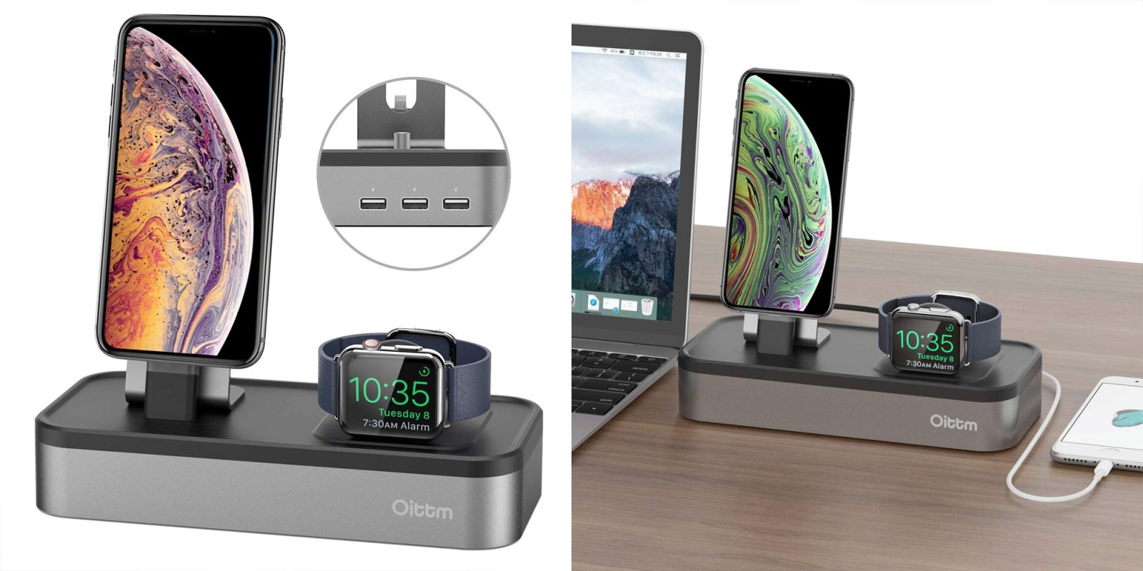 Power your iPhone, Apple Watch, iPad, more with this $21.50 dock at Amazon