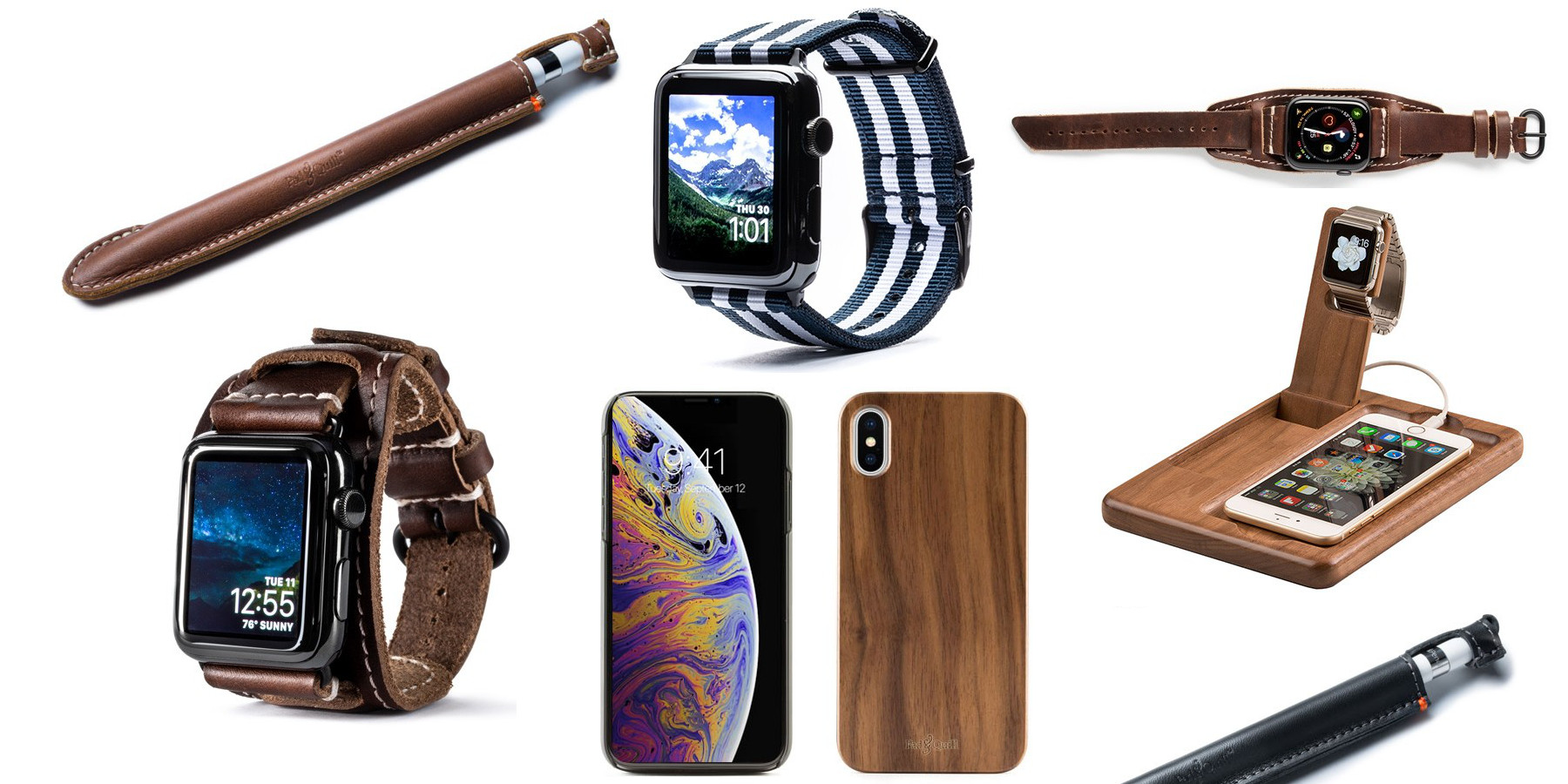 Pad & Quill offers Apple Watch bands, iPhone cases, bags, more from $18 (up to 45% off)
