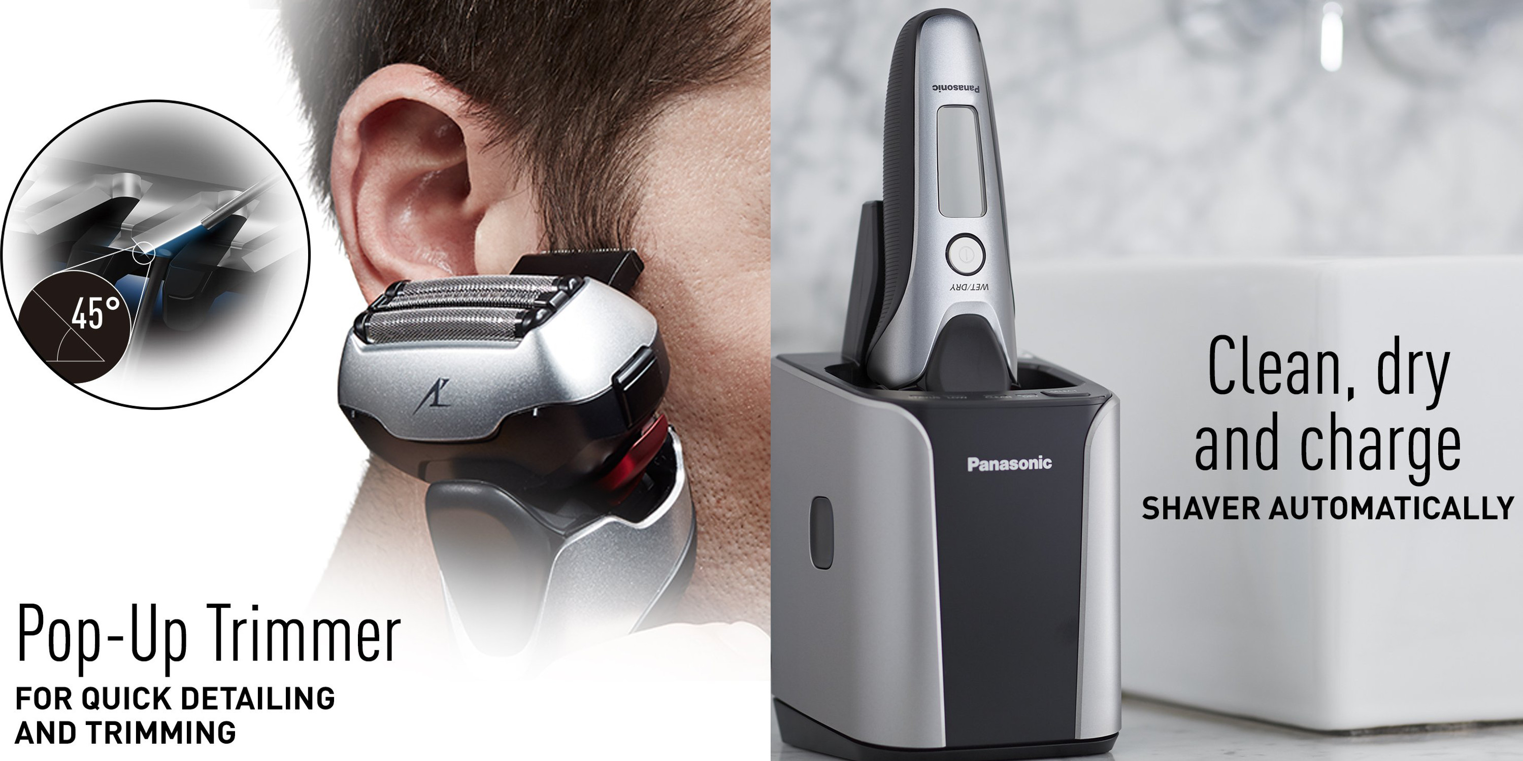 Panasonic's Arc Shaver System w/ charger station hits Amazon low at $98 (Reg. $140+)